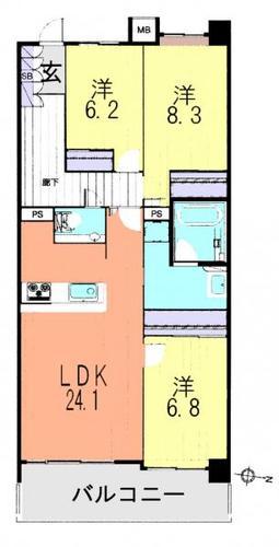 リリファ松戸A棟の画像