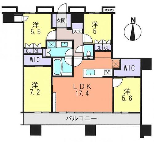 グランドミッドタワーズ大宮フォレストタワーの物件画像