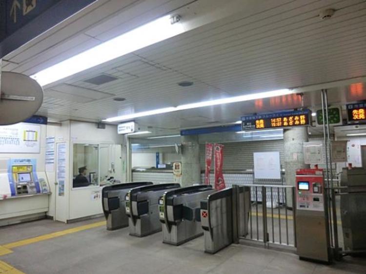 ブルーライン高島町駅