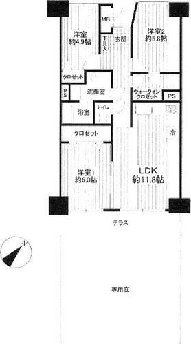 横浜パークタウンG棟の画像