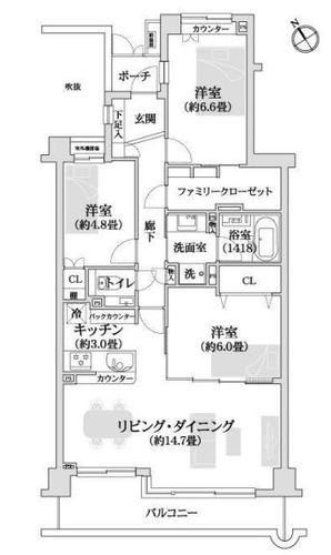ヴェルナード大倉山四番館の物件画像