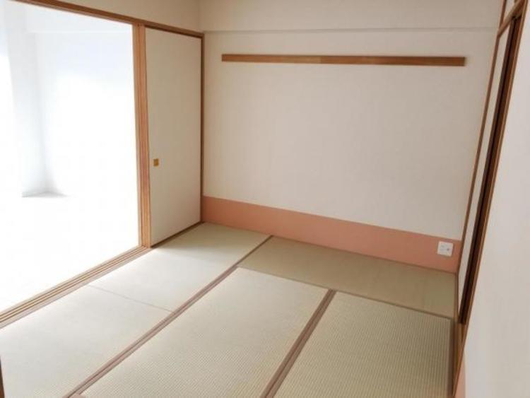 リビング横の和室。