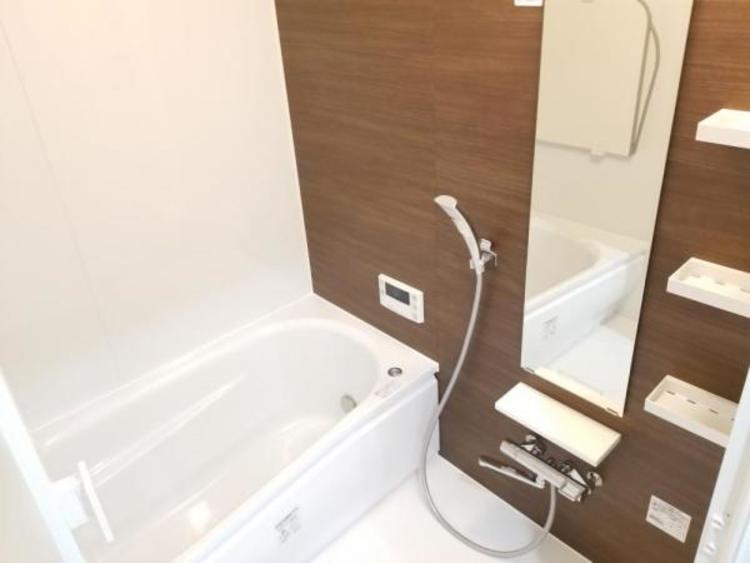 一日の疲れを癒す浴室