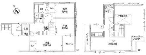 横浜市青葉区美しが丘西3丁目戸建の物件画像