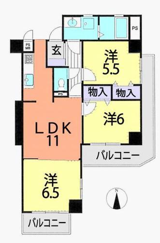 コーラルハイツ志木2 弐号棟の画像