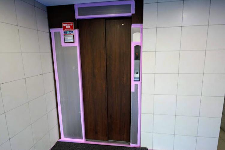 嬉しいエレベーター付きです!