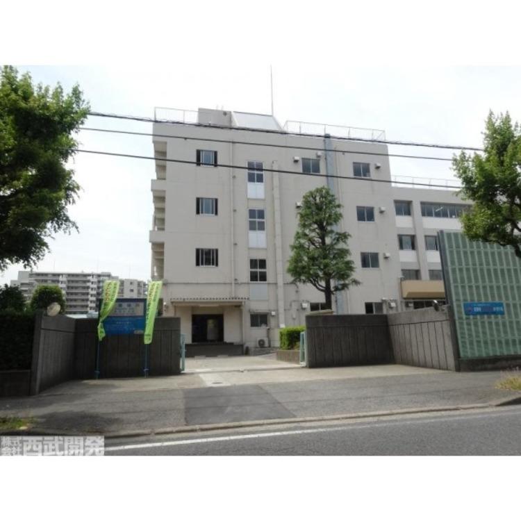 喜沢中学校(約850m)