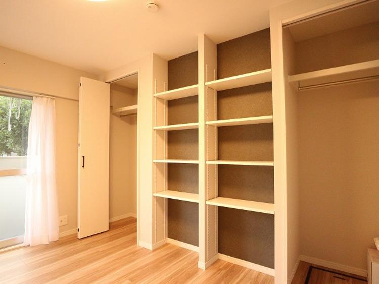 各部屋を最大限に広く使って頂ける様、各居室に収納付。プライベートルームはゆったりと快適に。