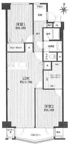 横浜ハイタウン1号棟の物件画像