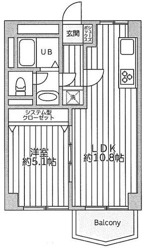 神奈川新町コーポの物件画像