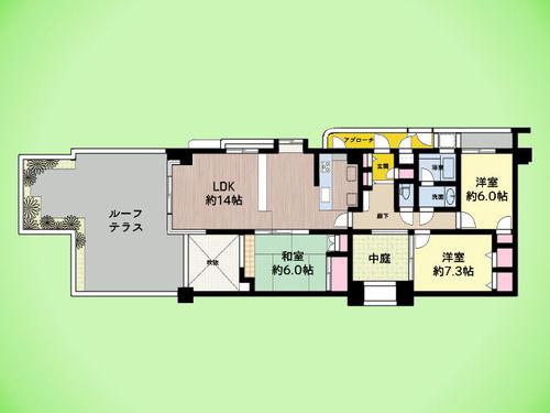 ワコーレ玉川学園A-8の画像