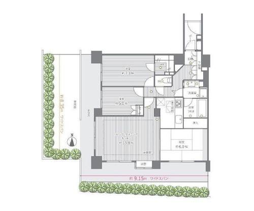 市ヶ尾南パークホームズの物件画像