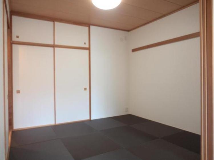 〇モダンなデザインの和室。すぐ横になれる和室で寛ぐひと時をお楽しみいただけます!