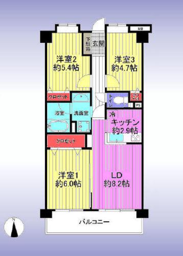 ライオンズマンション浦和元町の物件画像