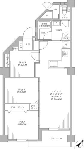南砂住宅 8号棟の物件画像