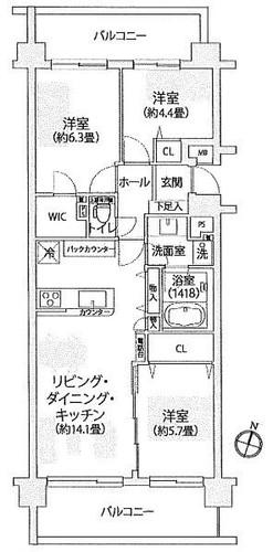 シティクレスト横浜妙蓮寺センターコートの物件画像