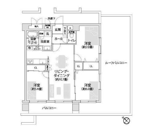 プライム鹿島田の物件画像