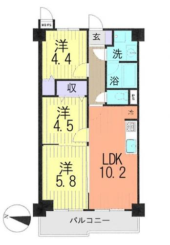 ライオンズマンション武蔵浦和の物件画像
