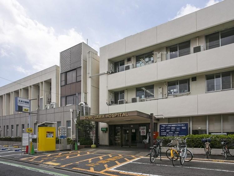 久米川病院 807m