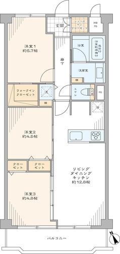 二子玉川ロイヤルマンションの物件画像