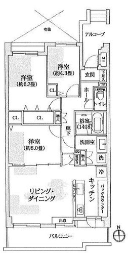 コートハウス日吉本町の物件画像