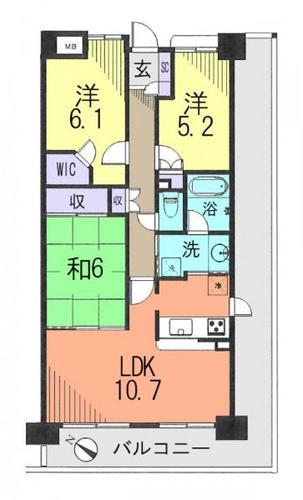 東急ドエル・アルス松戸カームガーデンの物件画像