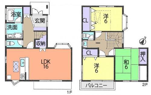 戸田市美女木2丁目 中古住宅の物件画像