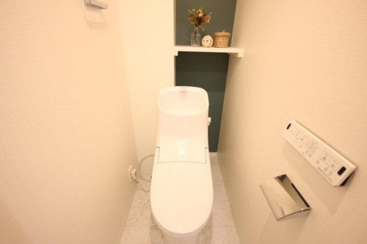 白を基調とし、清潔感のある空間に仕上がりました。日々の生活を快適に。