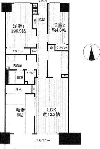 コープ野村戸塚下倉田の物件画像