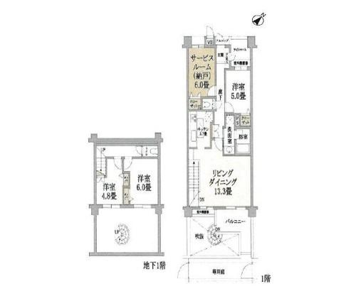 クレッセント武蔵新城イーストの画像
