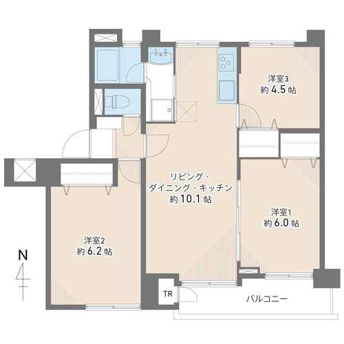 産業住宅協会三鷹第2アパートの物件画像
