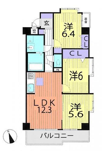 ライオンズマンション三郷第六の画像