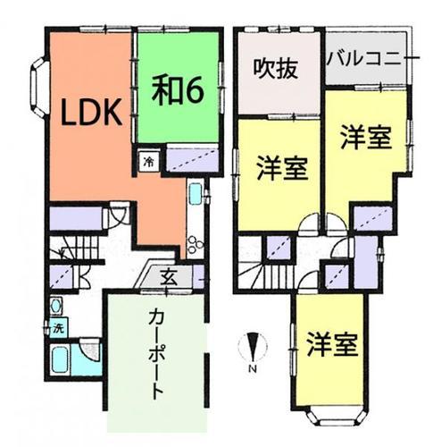 さいたま市桜区神田 中古住宅の物件画像