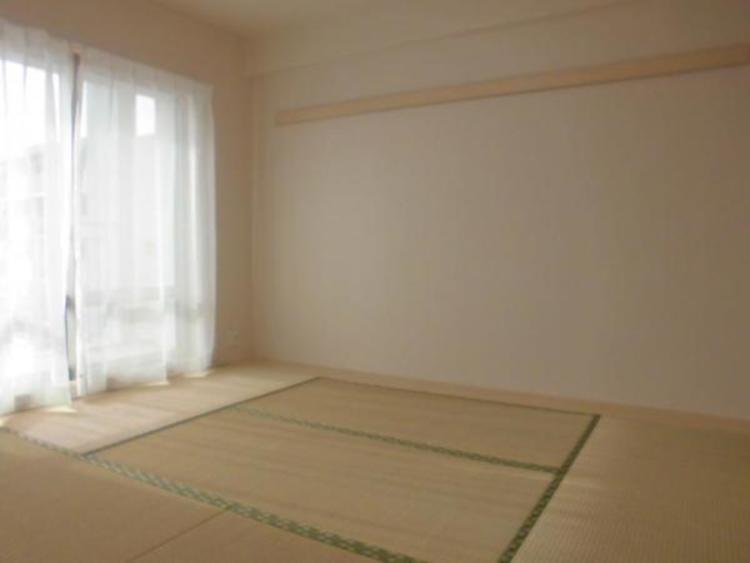 6帖の和室はお子様お昼寝スペースやママの家事スペースとしても大活躍!