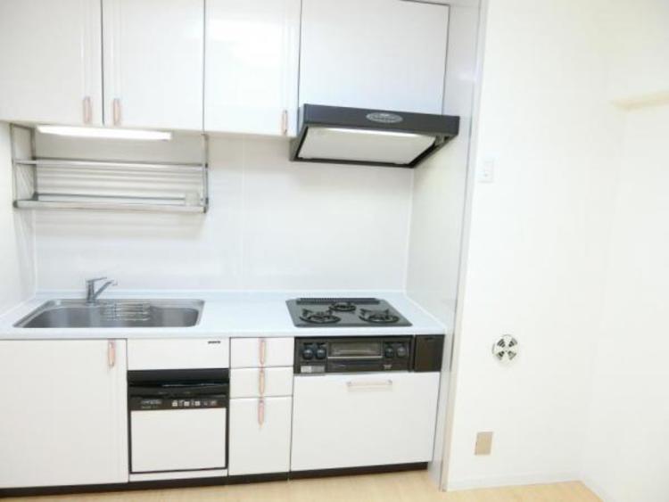 収納もたっぷりのキッチン!環境やママの手にも優しい食洗機も付いています!