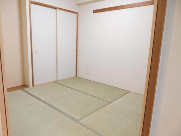 4.5帖の和室はお子様のお昼寝スペースやママの家事スペースとしても大活躍しますね!