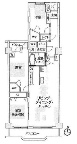 エンゼルパークハイツ綱島壱番館の物件画像