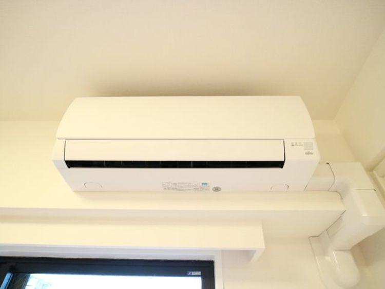 エアコン設置済み!入居時から快適にお過ごしいただけます。