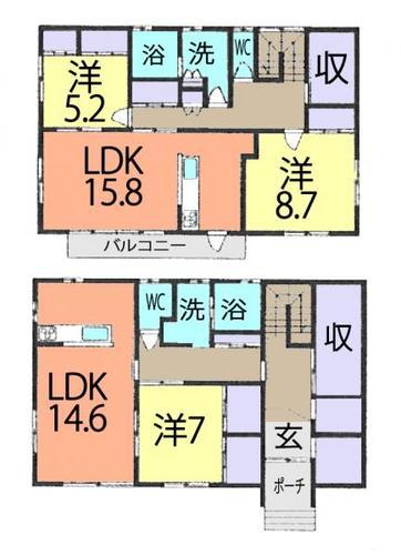 川越市下赤坂 中古戸建の画像