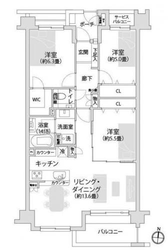マイキャッスル横濱山手エクセレントステージの物件画像