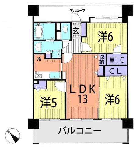 レーベンハイム川口元郷リバースクエアの物件画像