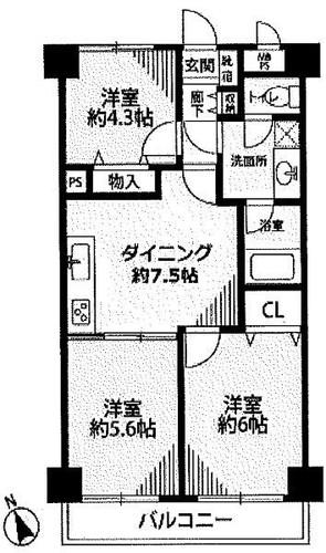 ライオンズマンション長津田第5の画像