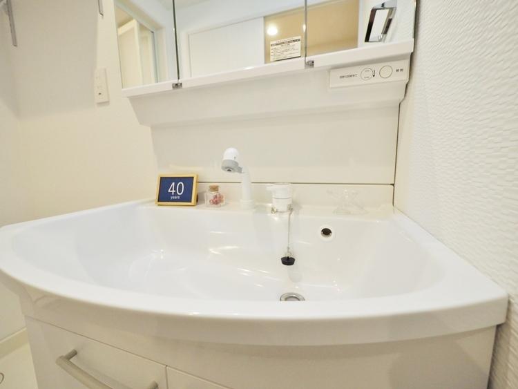 洗面台(三面鏡)