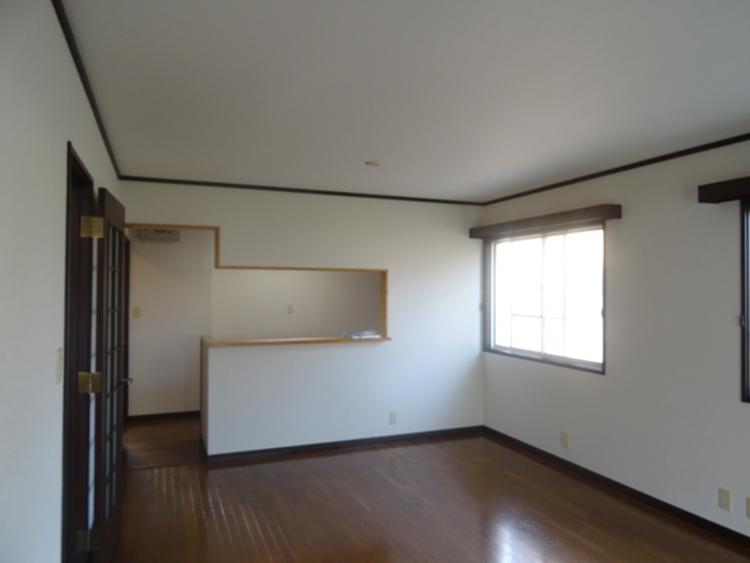 LDK。賃貸に出しておられたこともあり、室内はきれいな状態です。