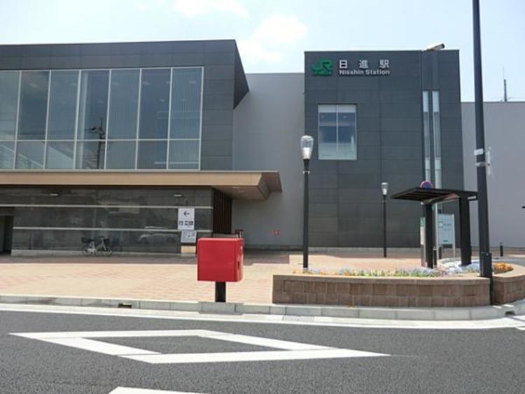 JR日進駅400m