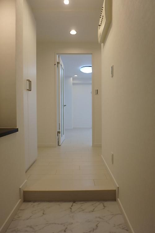 廊下などの無駄なスペースを最小限に抑えています。