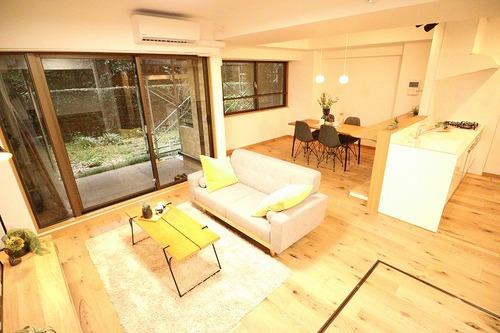 【成城ハイム1号棟】収納豊富な3LDK+ガーデニングが楽しめる専用庭付き♪の画像
