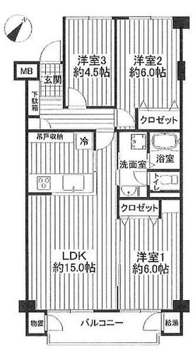 三ツ沢ハイタウン参号棟の物件画像