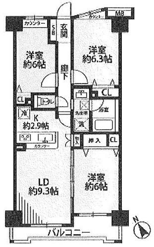 モア・クレストアクゼス新横浜の物件画像
