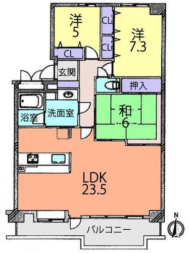 コスモ天王台の物件画像
